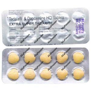 Extra Super Tadarise (тадалафил + дапоксетин)