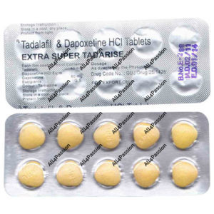 Extra Super Tadarise (Tadalafil + Dapoxetin)