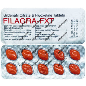 Filagra FXT (sildenafil citrate + fluoxetine)