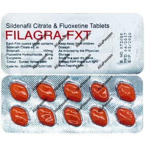 Filagra FXT (citrate de sildénafil + fluoxétine)