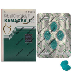 Kamagra Gold 100 mg (citrate de sildénafil)
