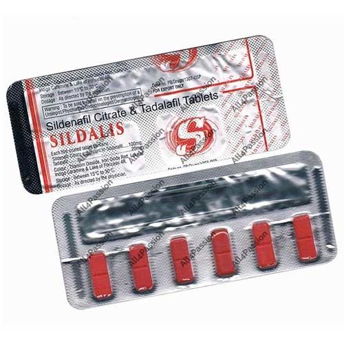 Sildalis (citrate de sildénafil + tadalafil)