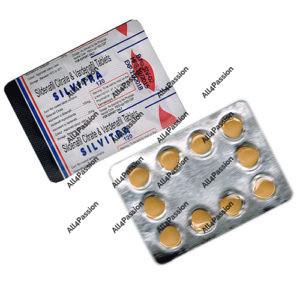 Silvitra (citrato de sildenafil + vardenafil)