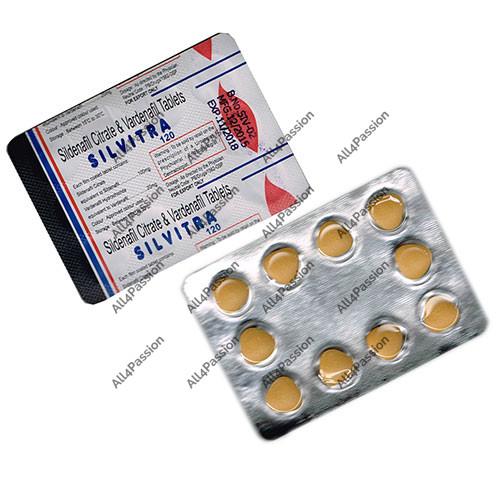Silvitra (citrate de sildénafil + vardénafil)