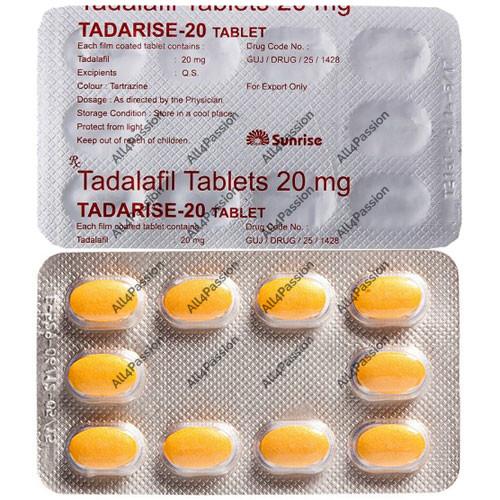 Tadarise-20 mg (tadalafil)