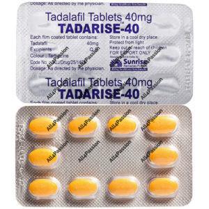 Tadarise-40 мг (Тадалафил)