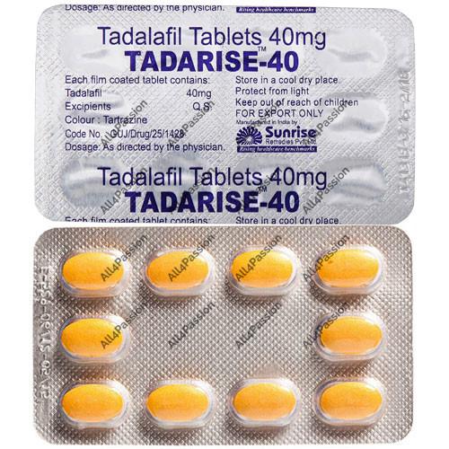 Tadarise-40 mg (tadalafil)