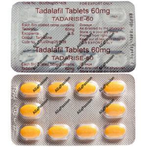 Tadarise-60 мг (Тадалафил)
