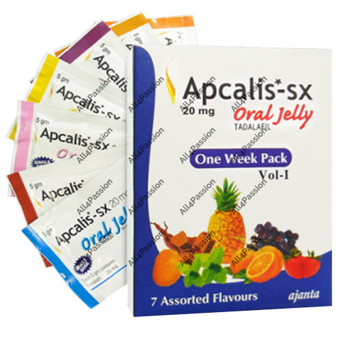 Apcalis Oral Jelly 20 мг (Тадалафил)