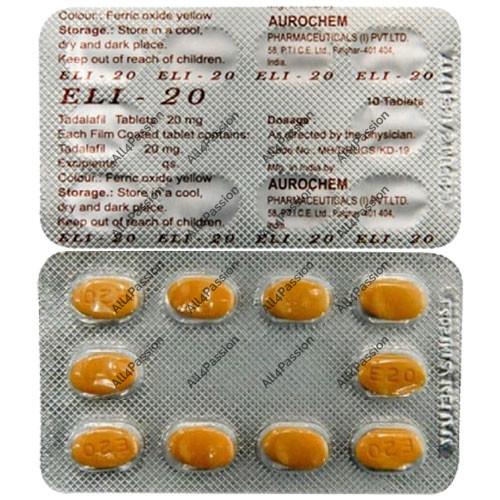 Eli-20 mg (Tadalafil)