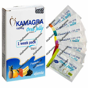 Kamagra Oral Jelly 100 mg (citrato de sildenafilo)