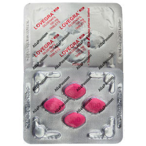 Lovegra 100 mg (sildenafil citrate)