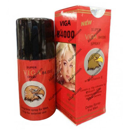 New Super Viga 84000 Delay Spray