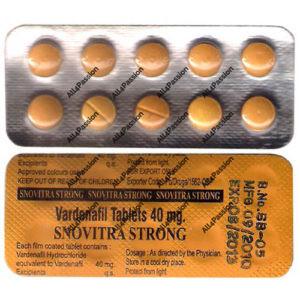 Snovitra Strong 40 mg (vardenafil)