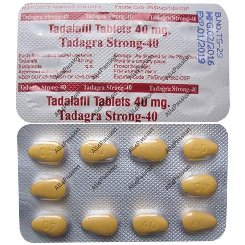 Tadagra Strong-40 mg (tadalafil)