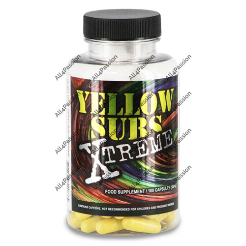 Yellow Subs Xtreme EFS 100 caps