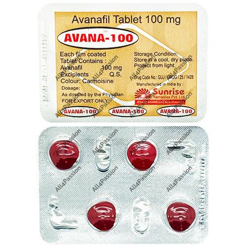 Avana-100 мг (аванафил)
