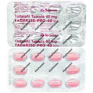 Tadarise Pro-40 mg (Tadalafil)